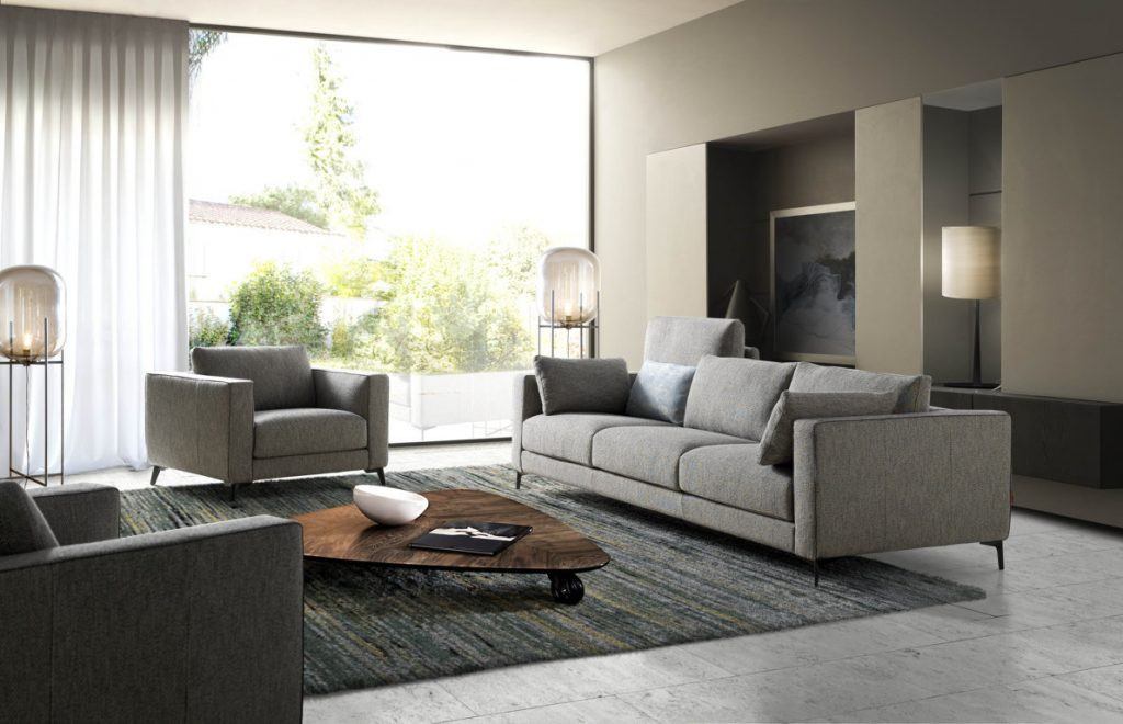 Comfortable and practical, This modern sofa will fit your individual style.